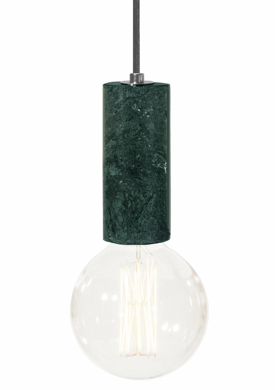 grön marmor lampa