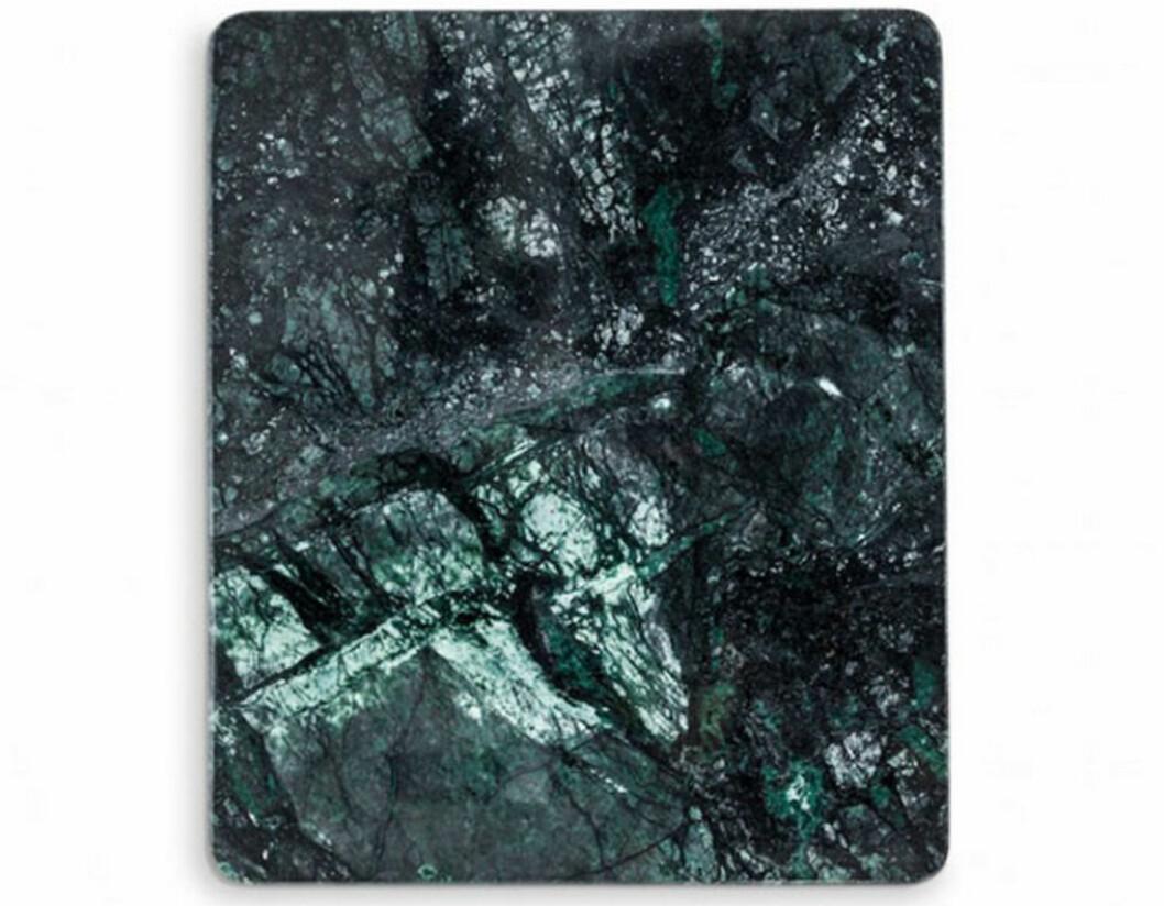 grön marmorbräda