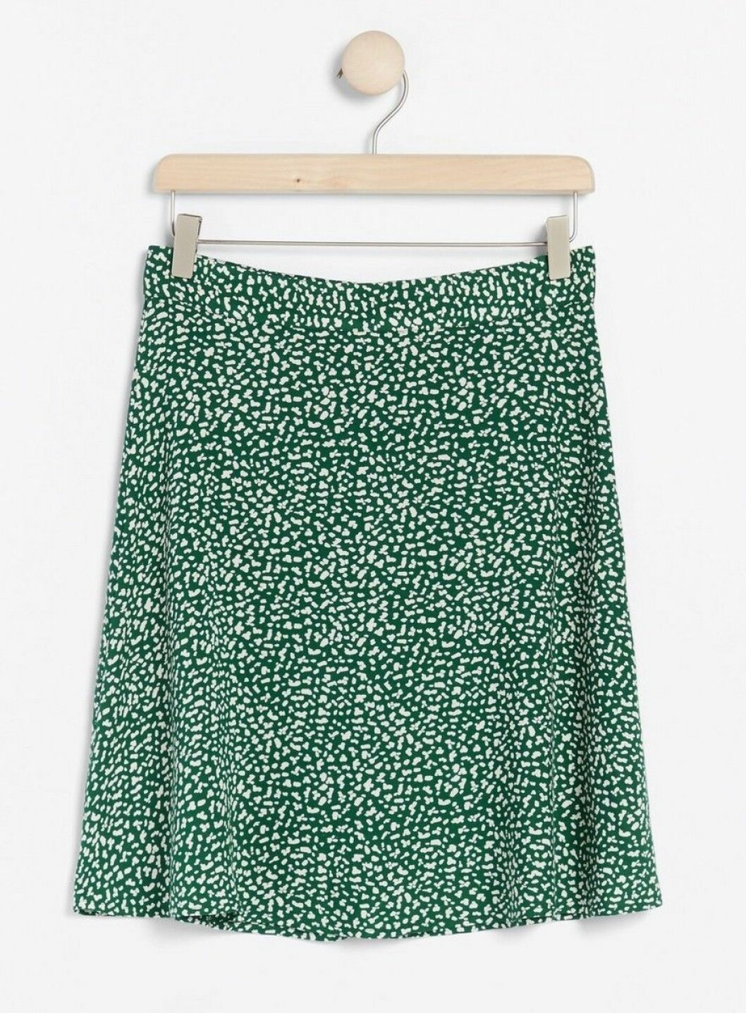 Grön mönstrad kjol för dam till 2020