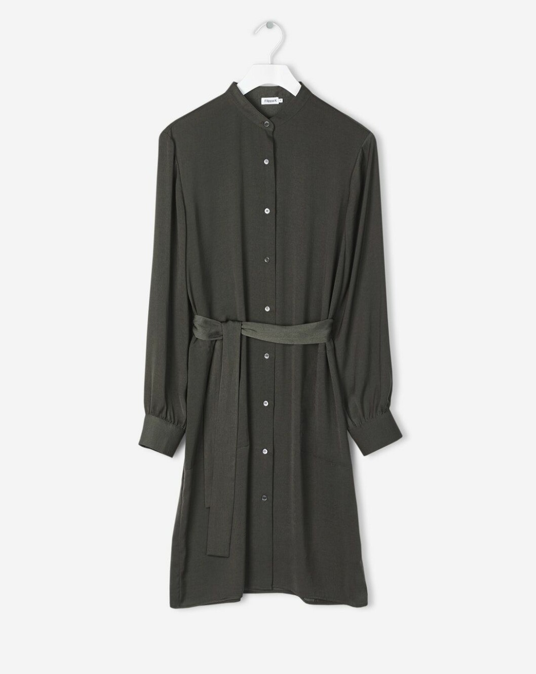 Grön skjortklänning Filippa K