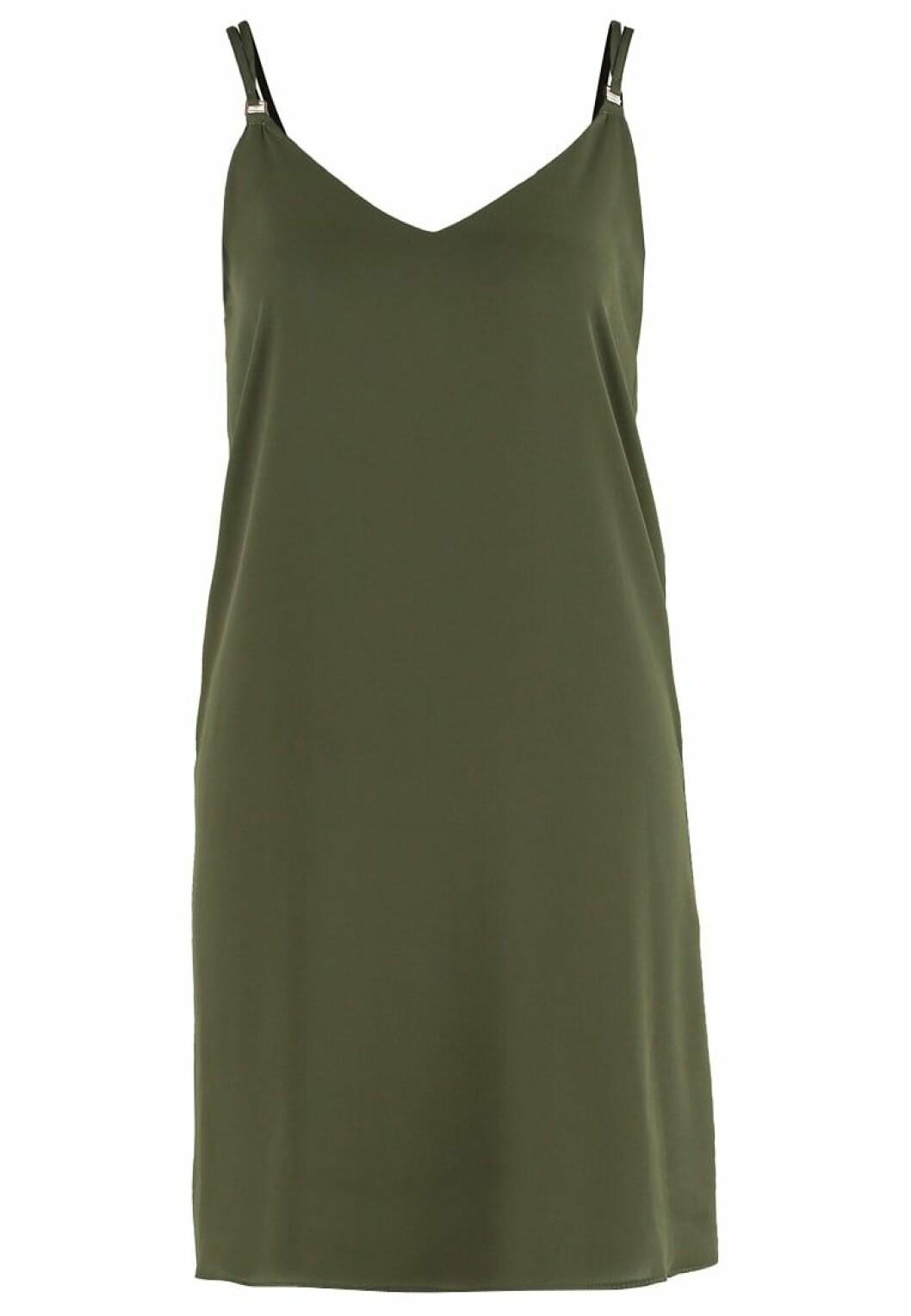 grön slipklänning