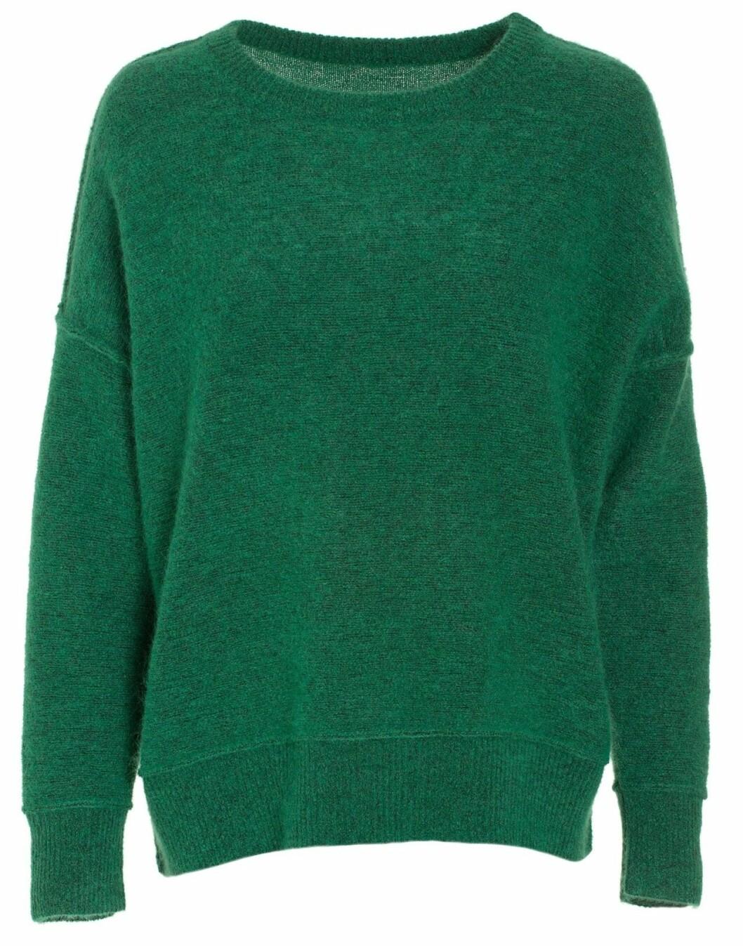 Grön stickad tröja 2018