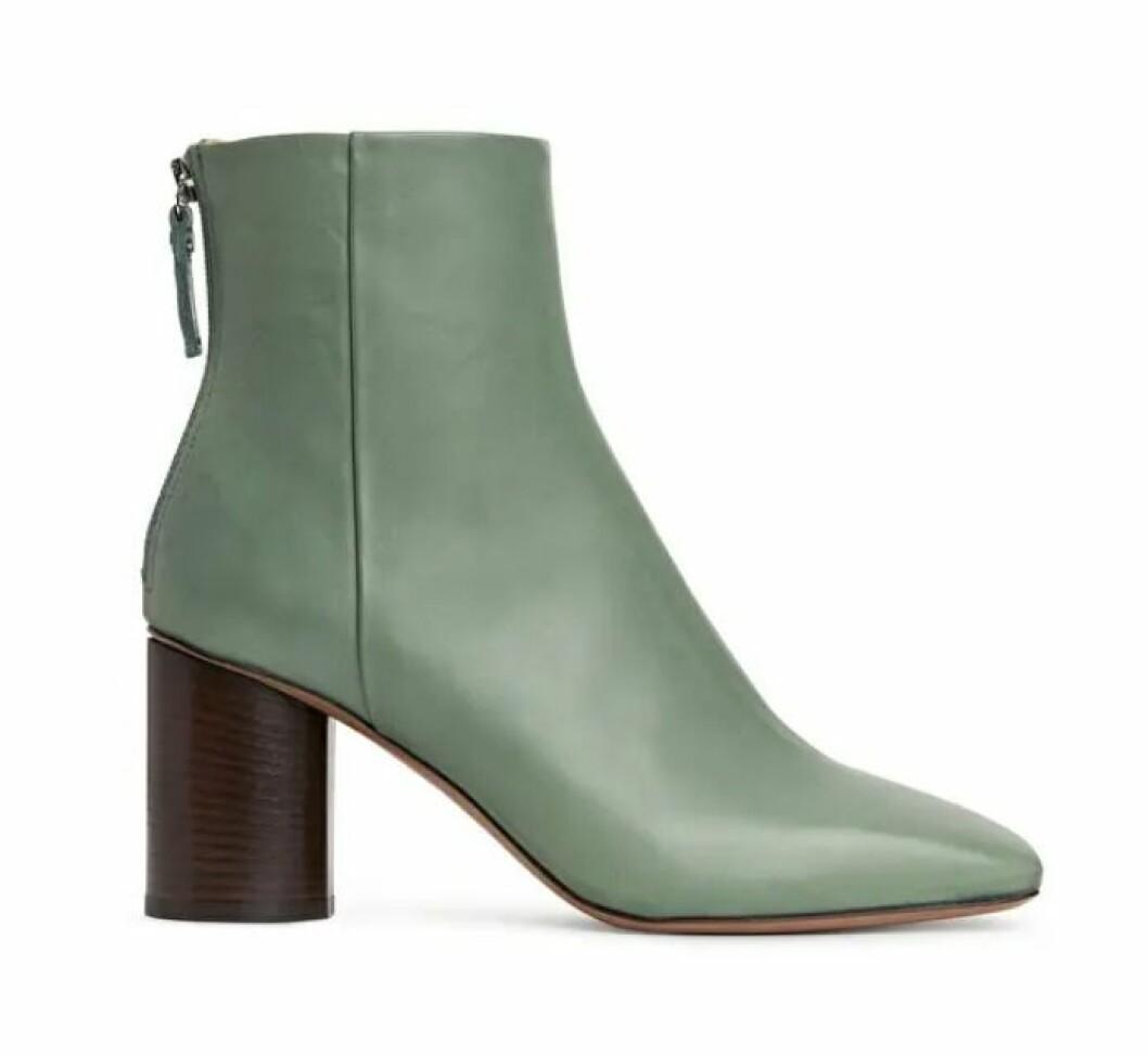 Gröna boots för dam till hösten 2019