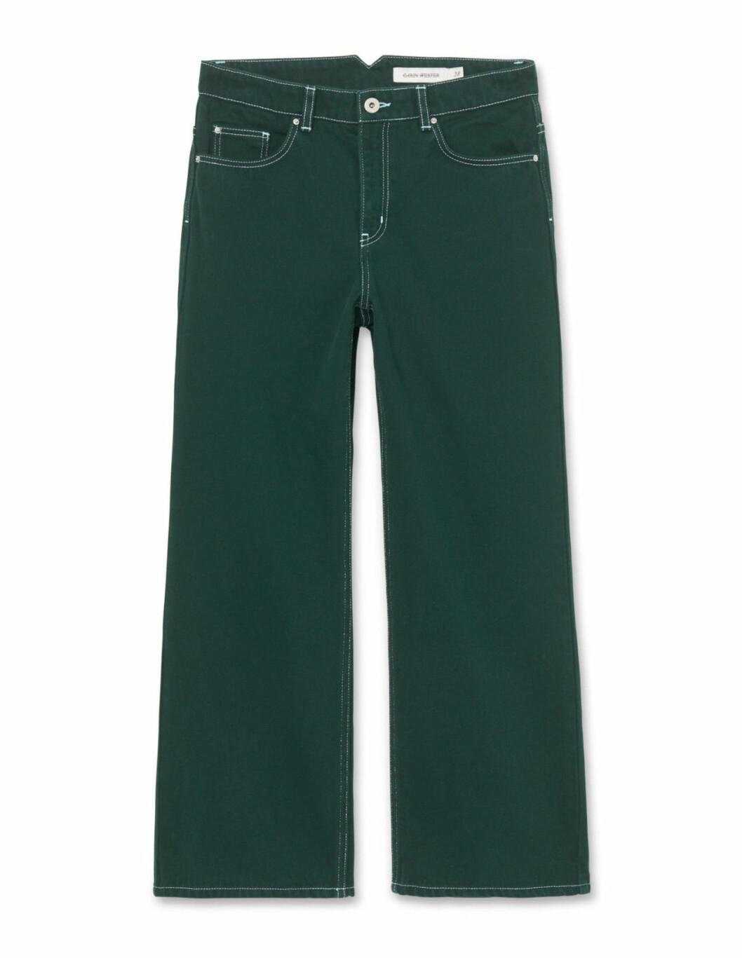 Gröna jeans till hösten 2018