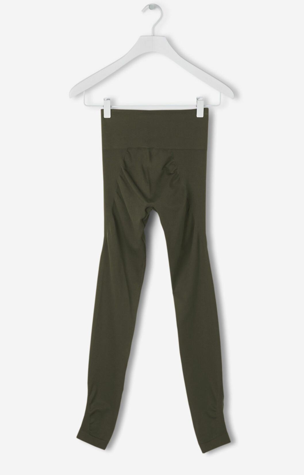 Gröna leggings dam