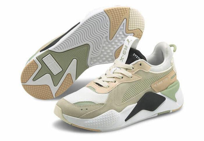 gröna sneakers