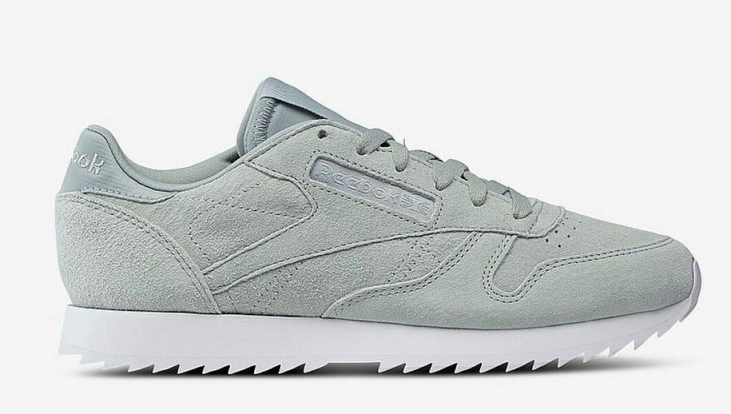 Ljusgröna sneakers till dam från Reebok för våren 2019