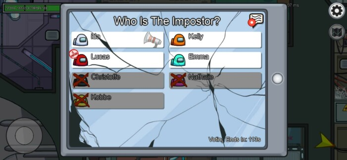 Guide: Så spelar du Among Us – diskussion om vem som är Impostor
