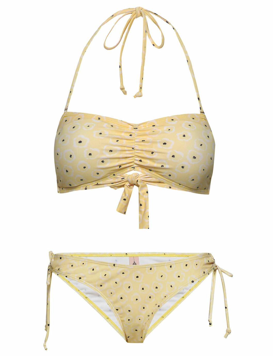 Gul bikini på rea för dam till sommaren 2020