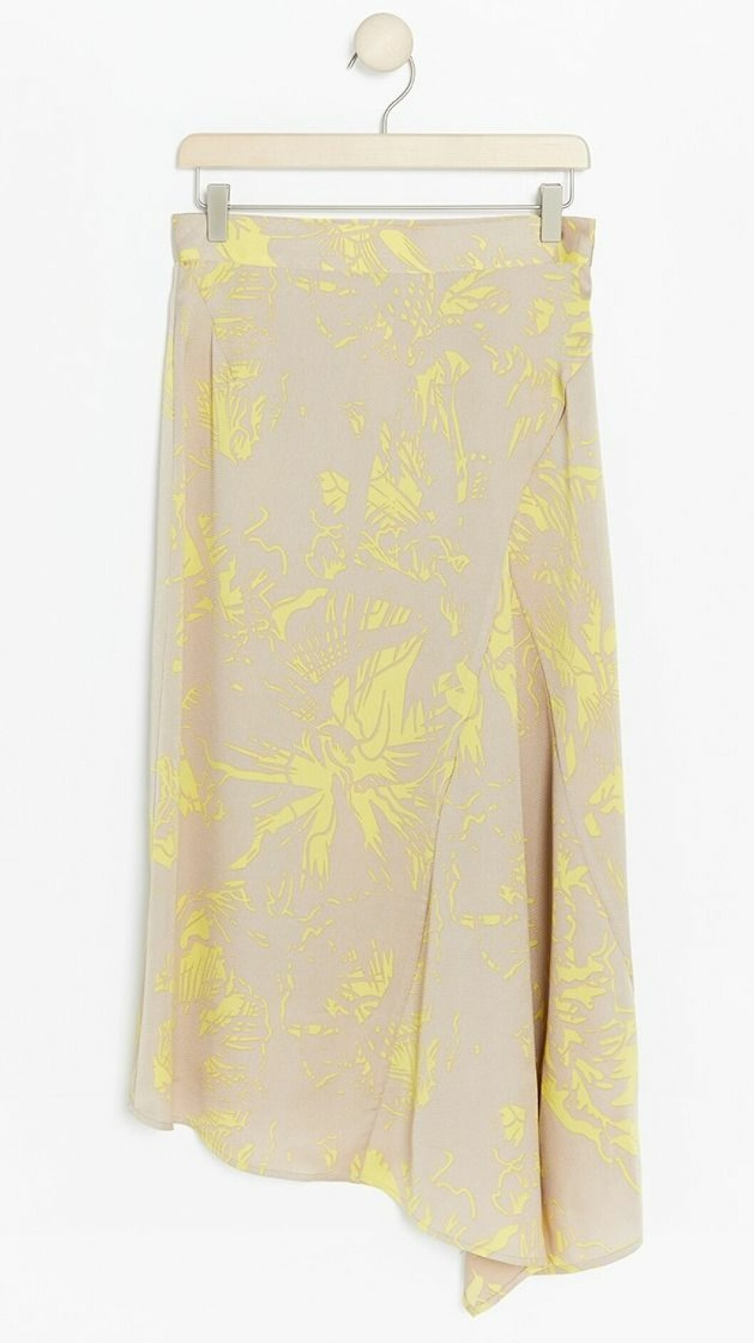 Gul kjol till våren 2019
