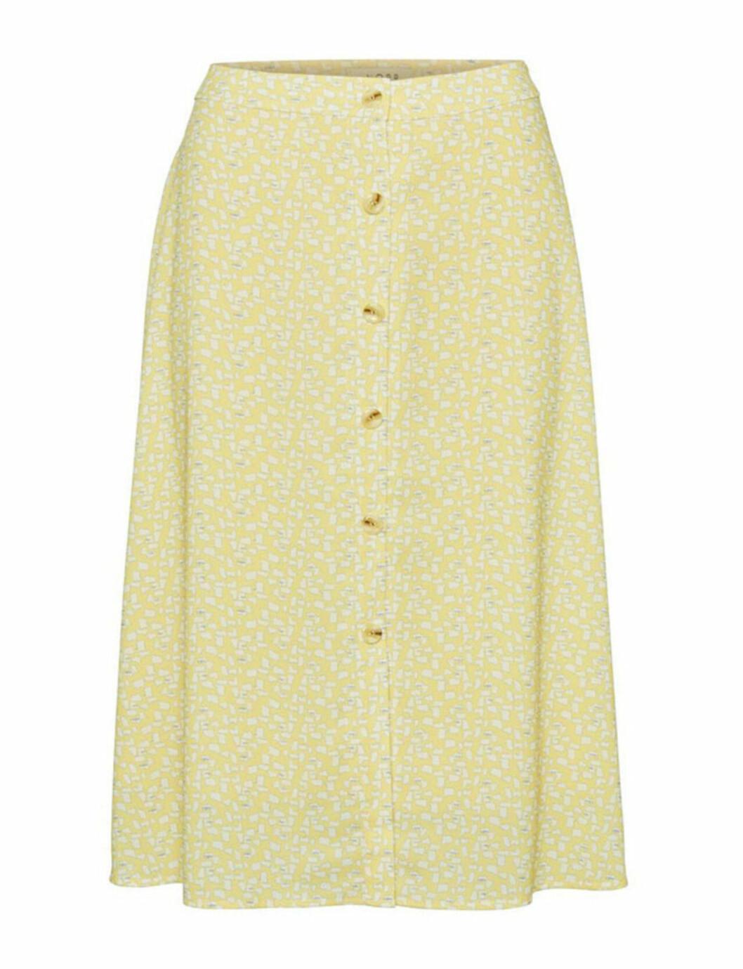 Gul kjol för dam till sommaren 2019