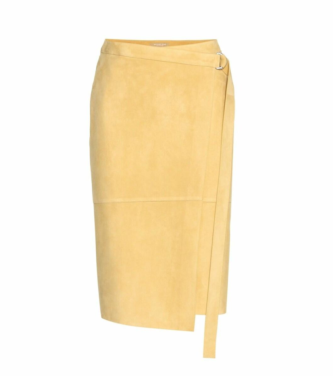 Gul kjol från Michael Kors på rea