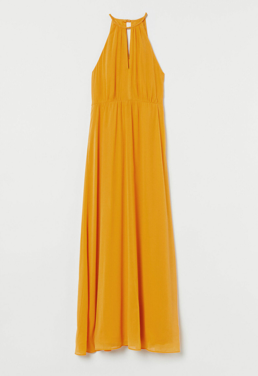 Gul klänning till brudtärnan 2020