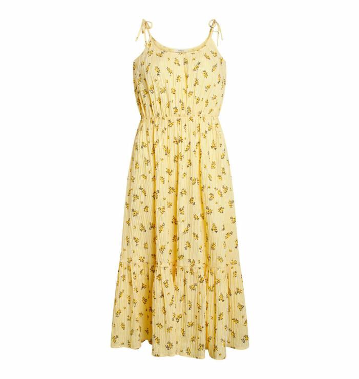 Gul klänning från Mads Nørgaard