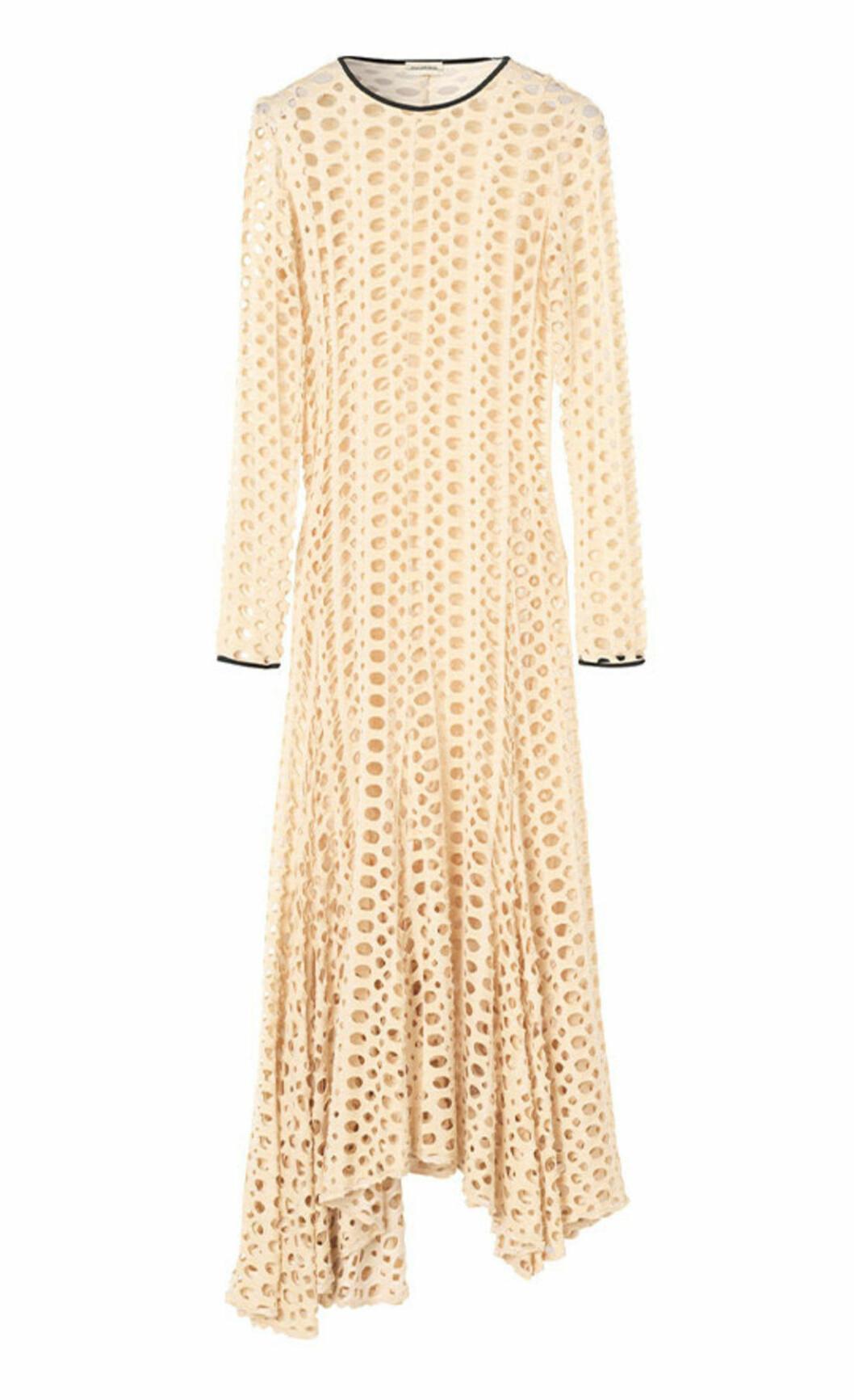 Gul klänning på rea till sommarens bröllop 2019