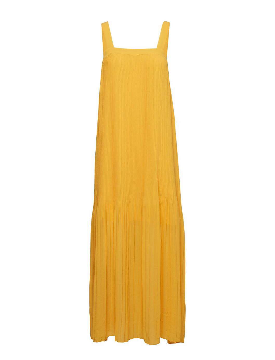 Gul klänning till brudtärna 2020