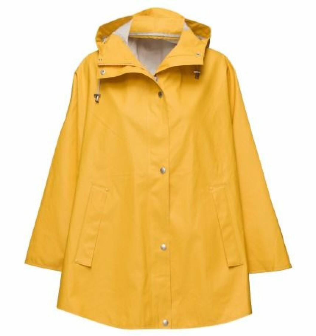 gul regnjacka 2016
