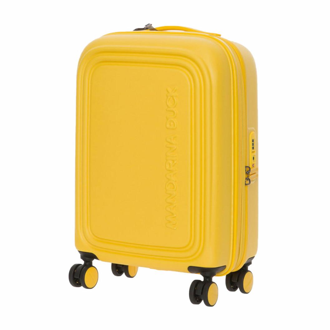 Gul resväska