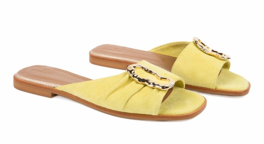Gula sandaler från Flattered för dam 2019
