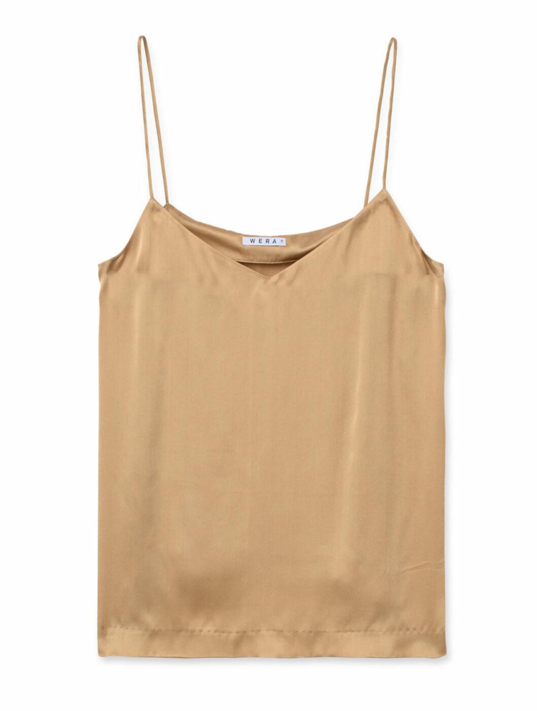 Guldfärgat linne till fest