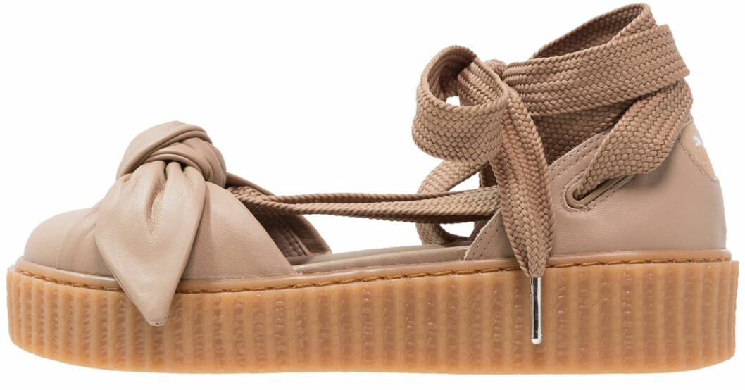 gummisula ballerina skor