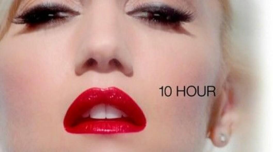 Gwen Stefani gör reklam för Infallible Le Rouge från L'Oréal Paris.