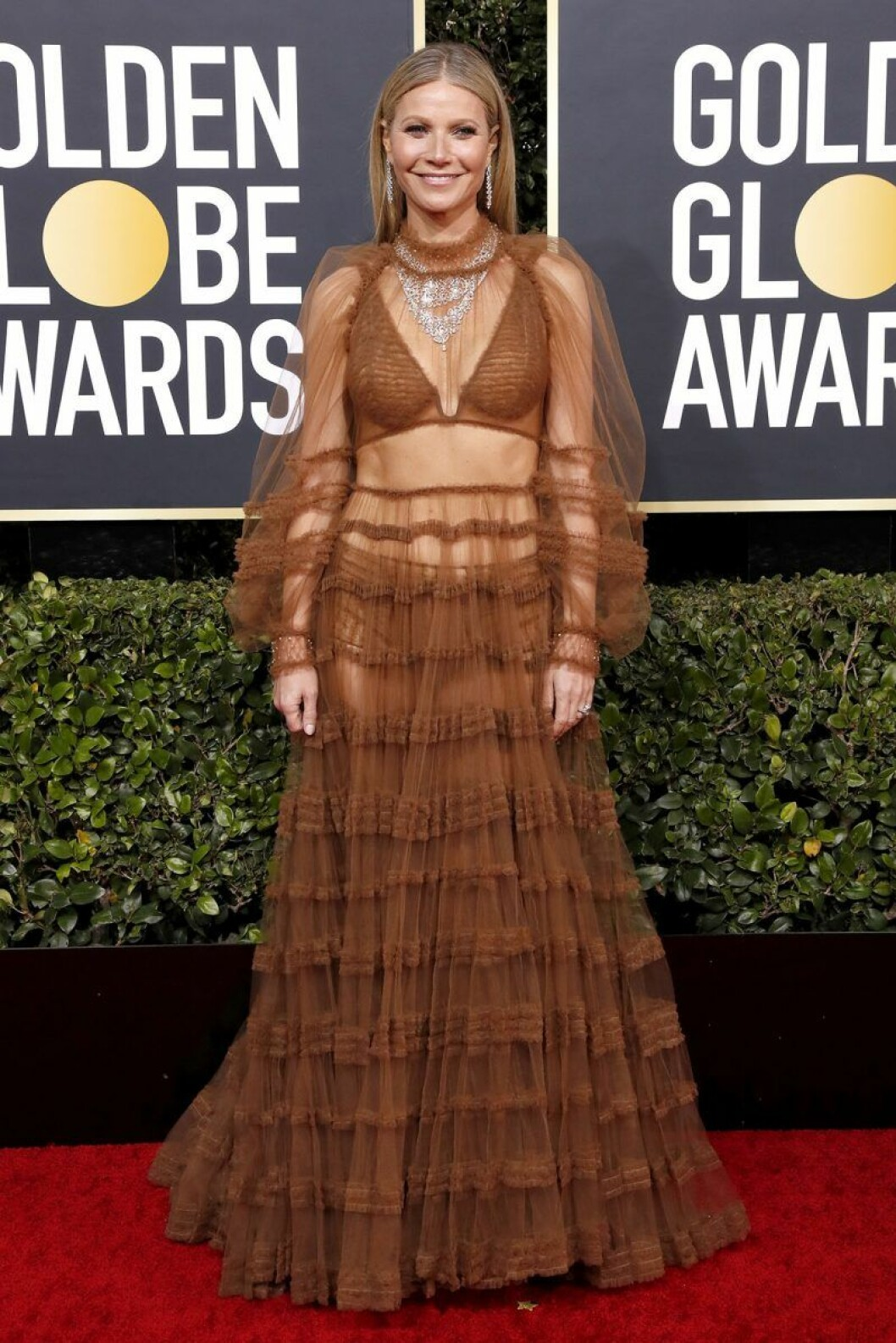 Gwyneth Paltrow på Golden Globes.