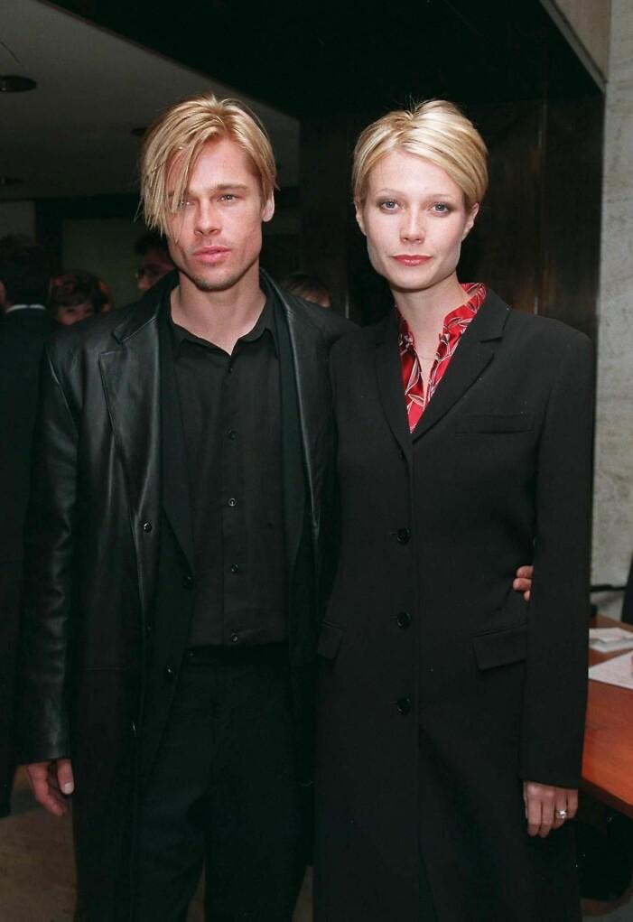 Gwyneth Paltrow och Brad Pitt