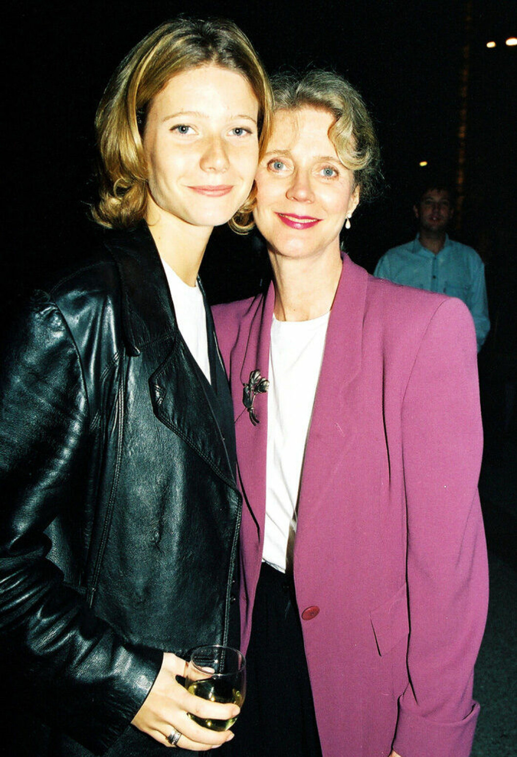 En bild på skådespelerskan Gwyneth Paltrow 1993.