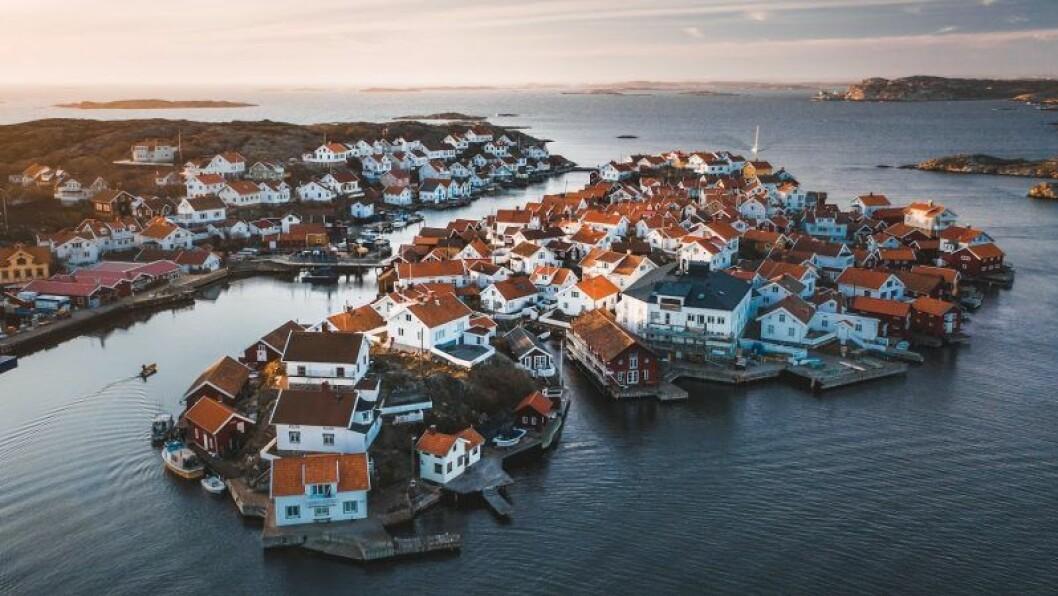 Natur och hus på SJ/Google/Tobias Hägg