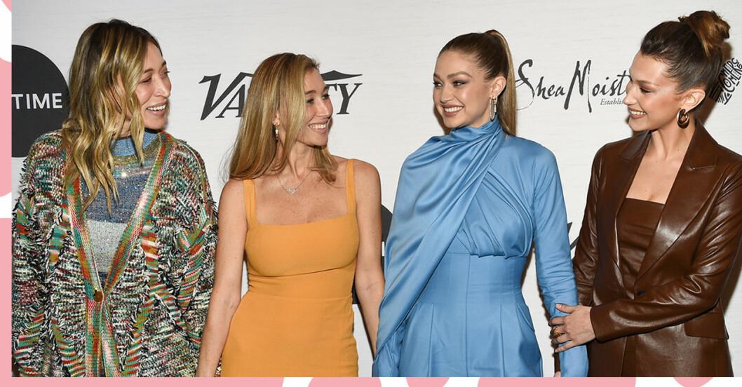 Här är Gigi och Bella Hadids okända systrar Alana och Marielle