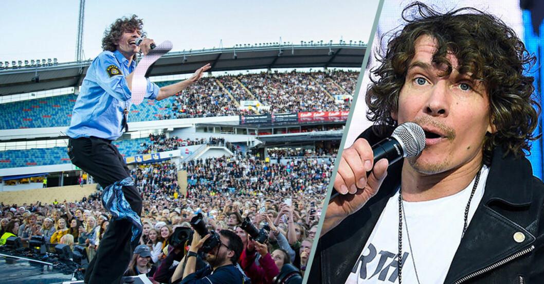 Håkan Hellström gör en tredje konsert 2020.