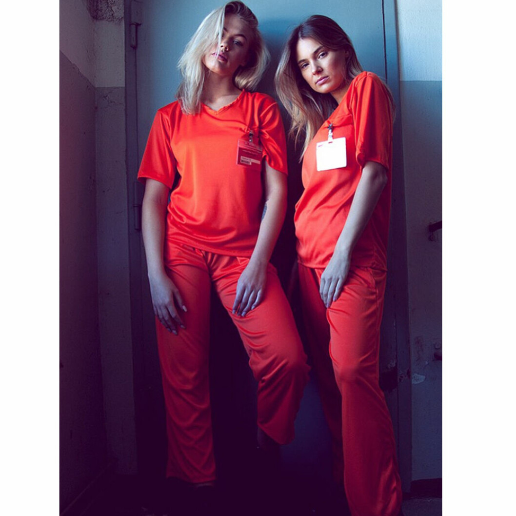 Halloween outfit Orange is the new black