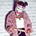 Halloweenoutfit mask