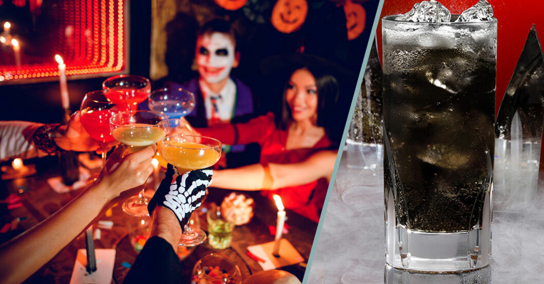 Halloweendrinkar med rom.