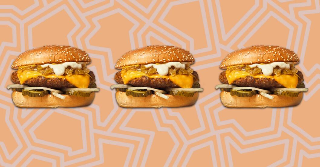 Grilled Onion 'n' Chees, ny hamburgare på Max