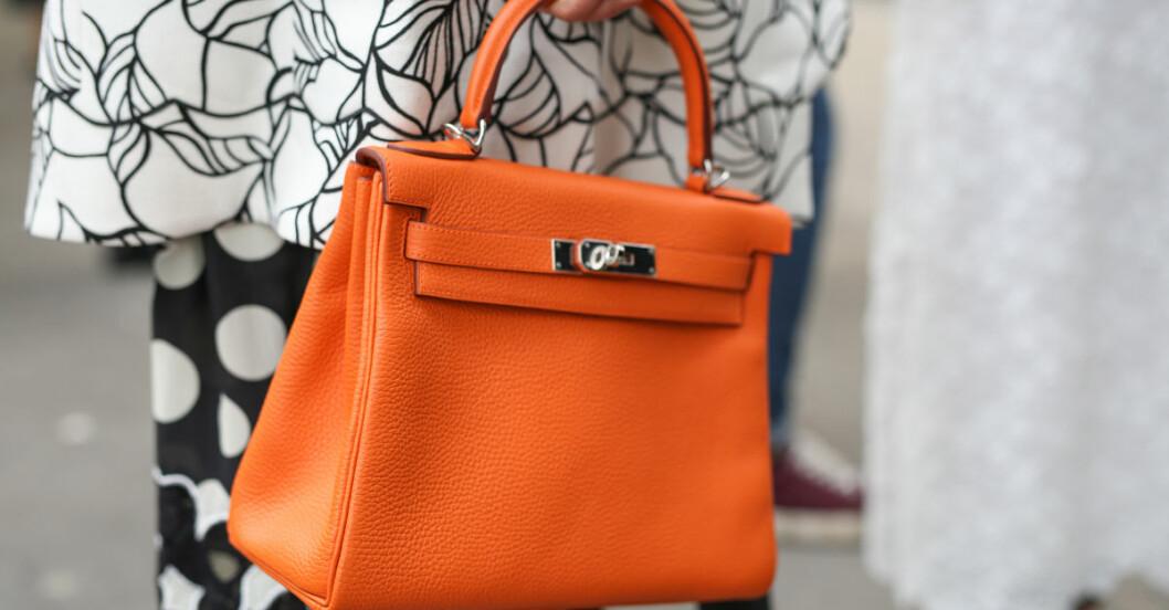 handväska som varnar shopping