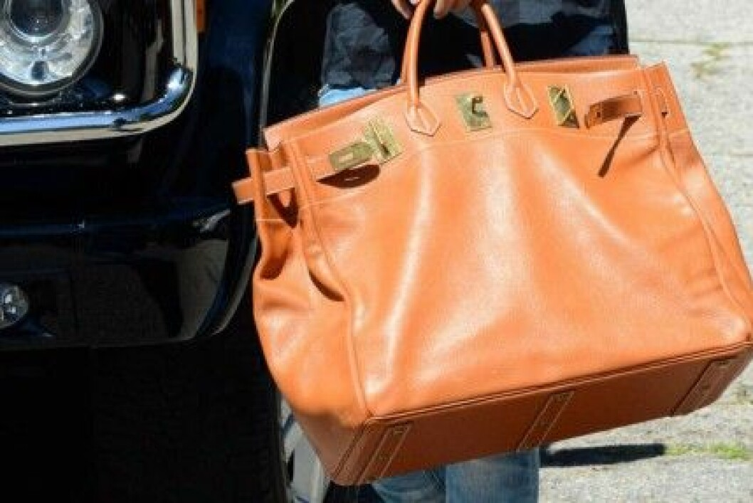för tung handväska