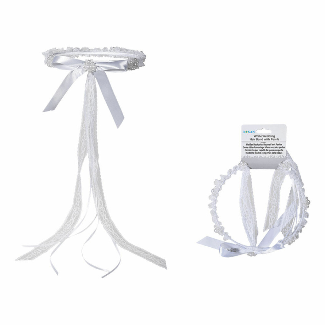 Möhippa, tiara med pärlor