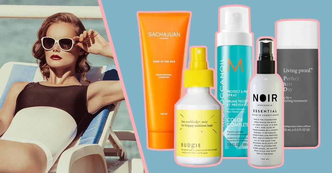 Hårprodukter med UV-skydd till sommaren