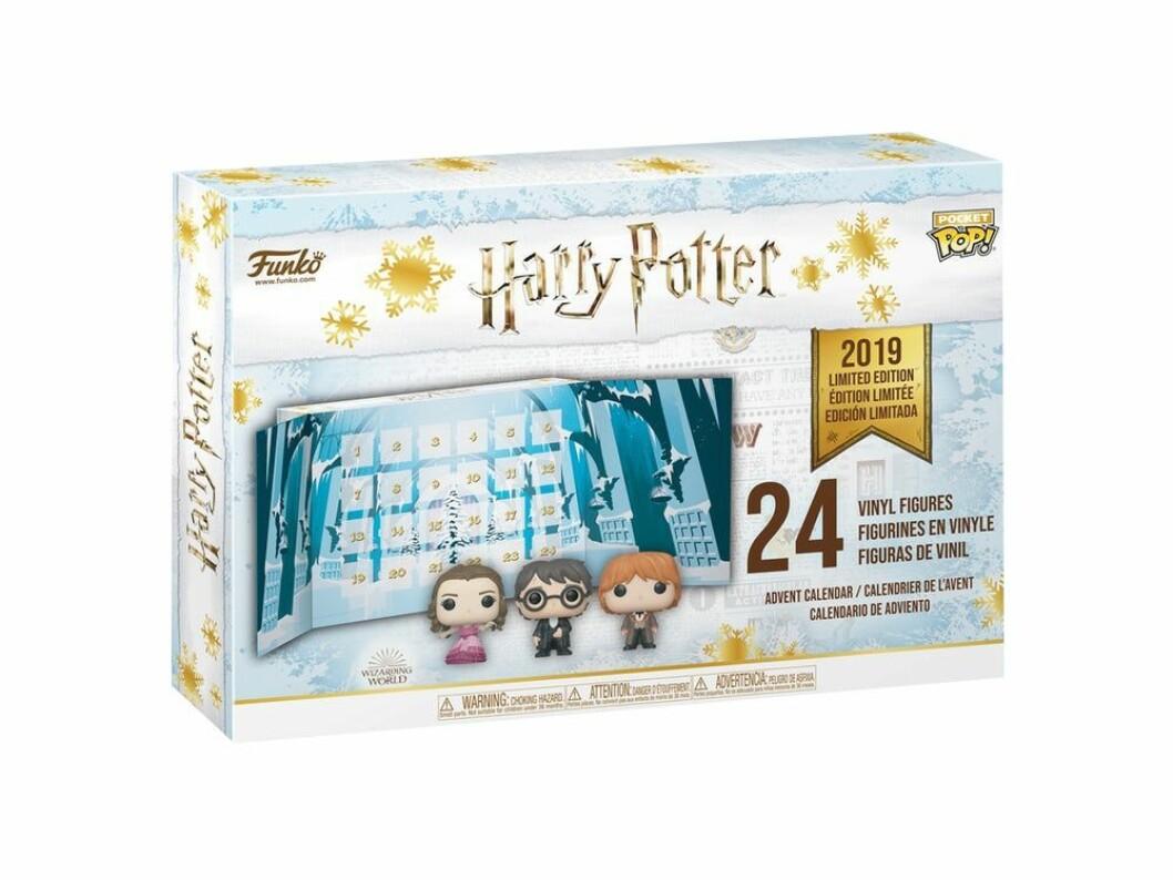 Harry Potter-adventskalender till julen 2019