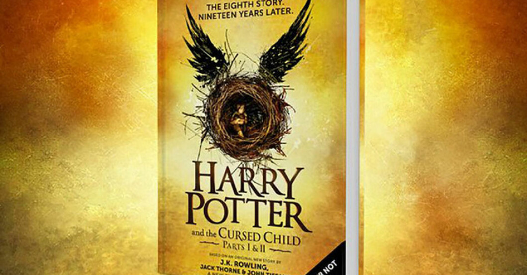 harry potter and the cursed child bok