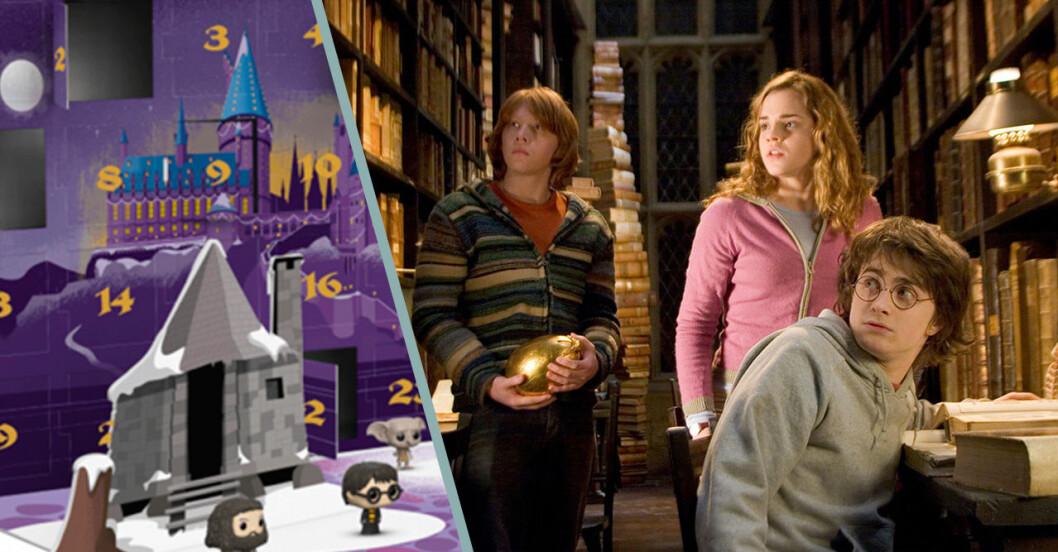 Nu kommer adventskalendern med Harry Potter-tema