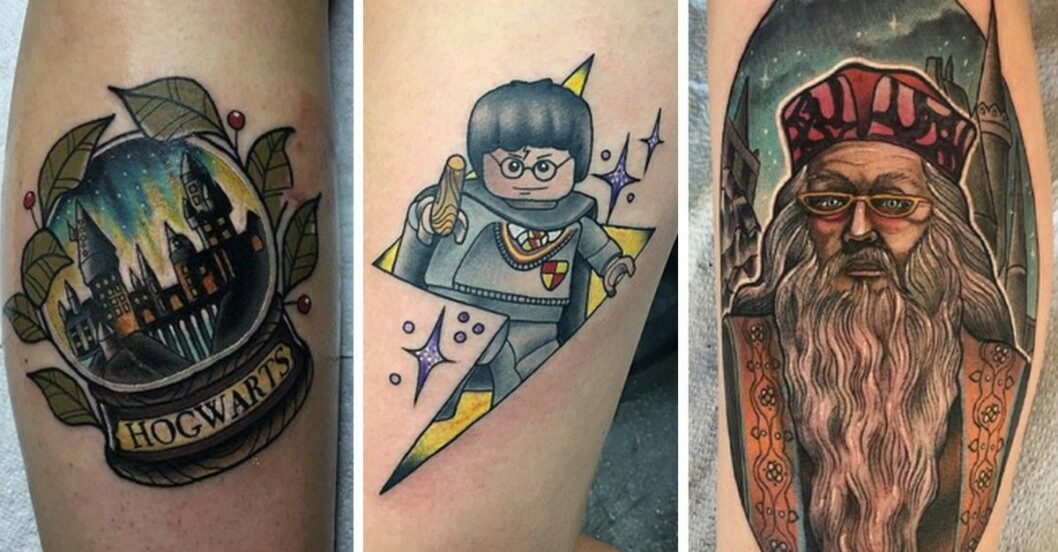 harry potter tatueringar