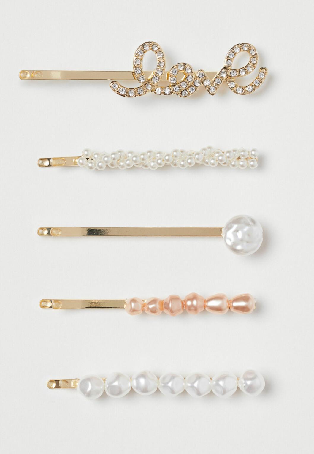 Hårnålar med pärlor