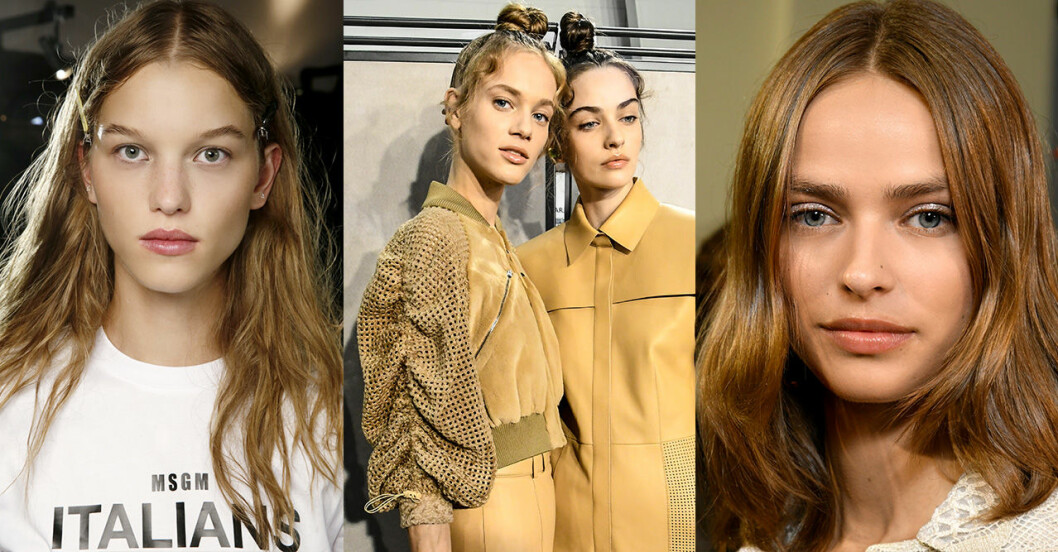 Hårtrender 2019: Kolablond och varm blond