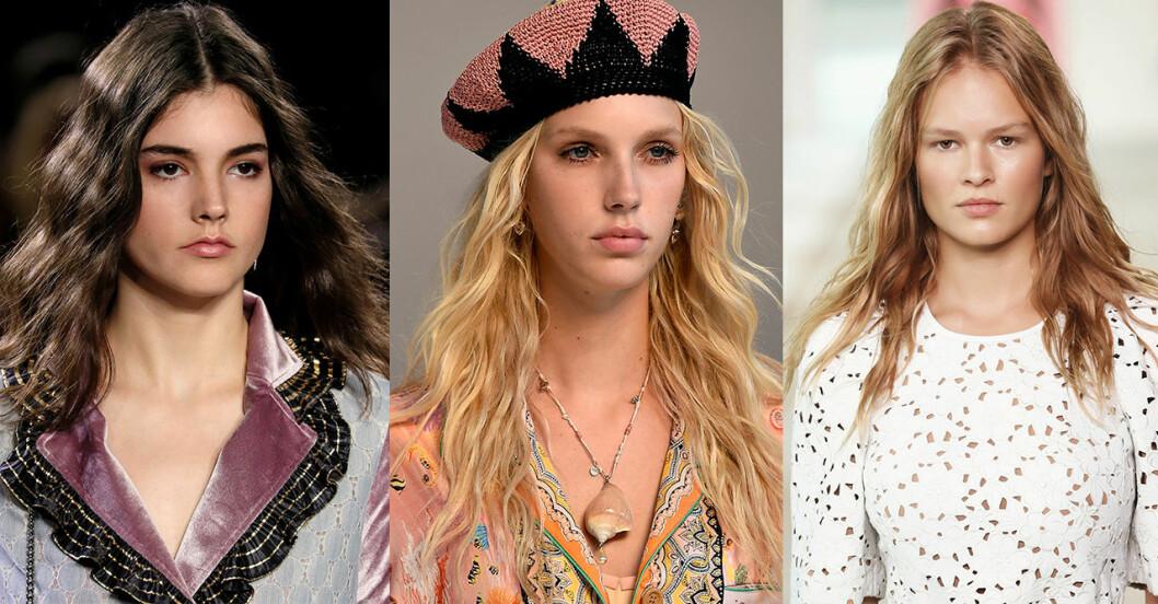Hårtrender 2019: Vågigt hår