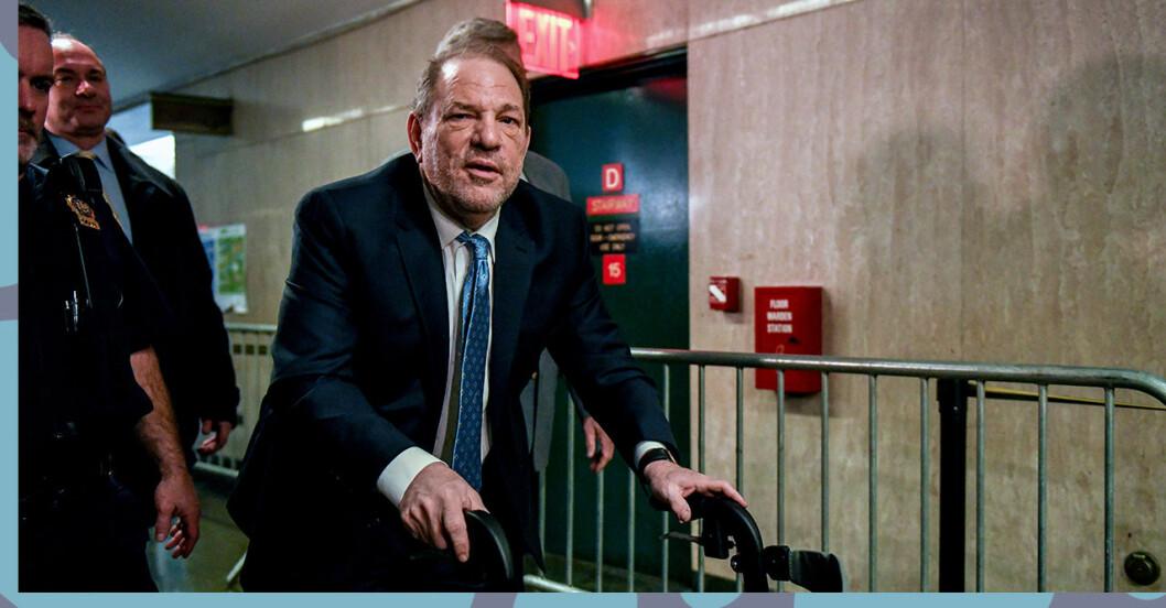 Harvey Weinsteins straff är bestämt
