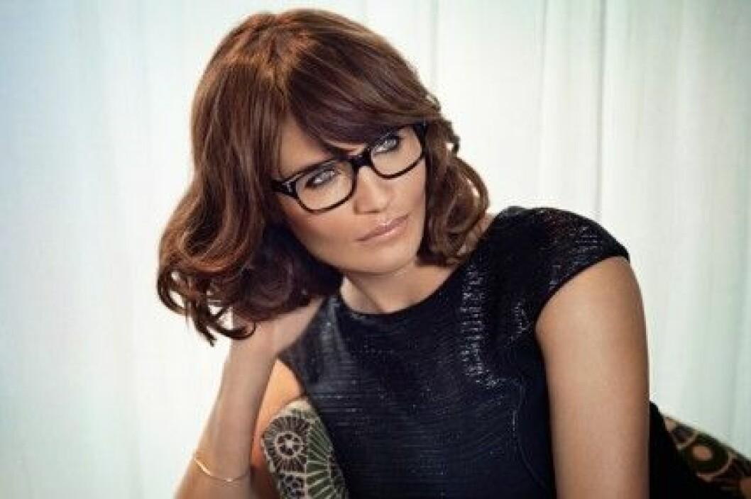 Helena Christensen är juryordförande i jakten på Årets Glasögonbärare 2013.