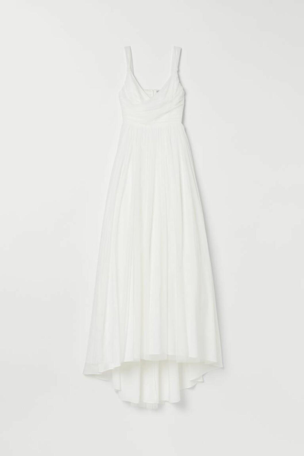 Bröllopsklänning i tyll från H&M